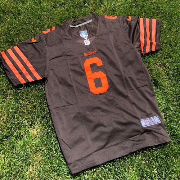 quality design 52160 83898 BAKER MAYFIELD STITCHED JERSEY CLEVELAND BROWNS NWT